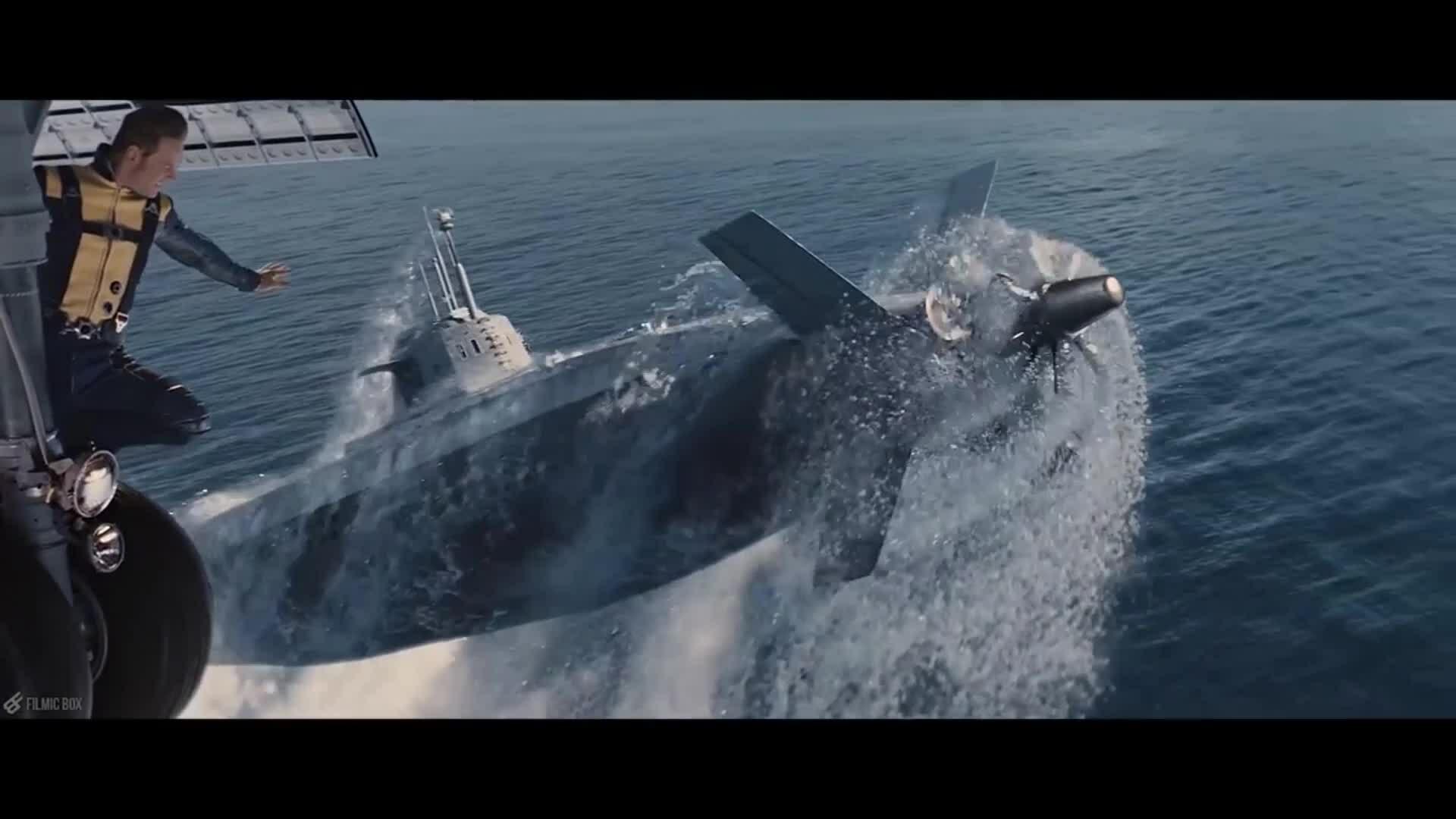 Magneto nhấc tàu ngầm trong X-Men