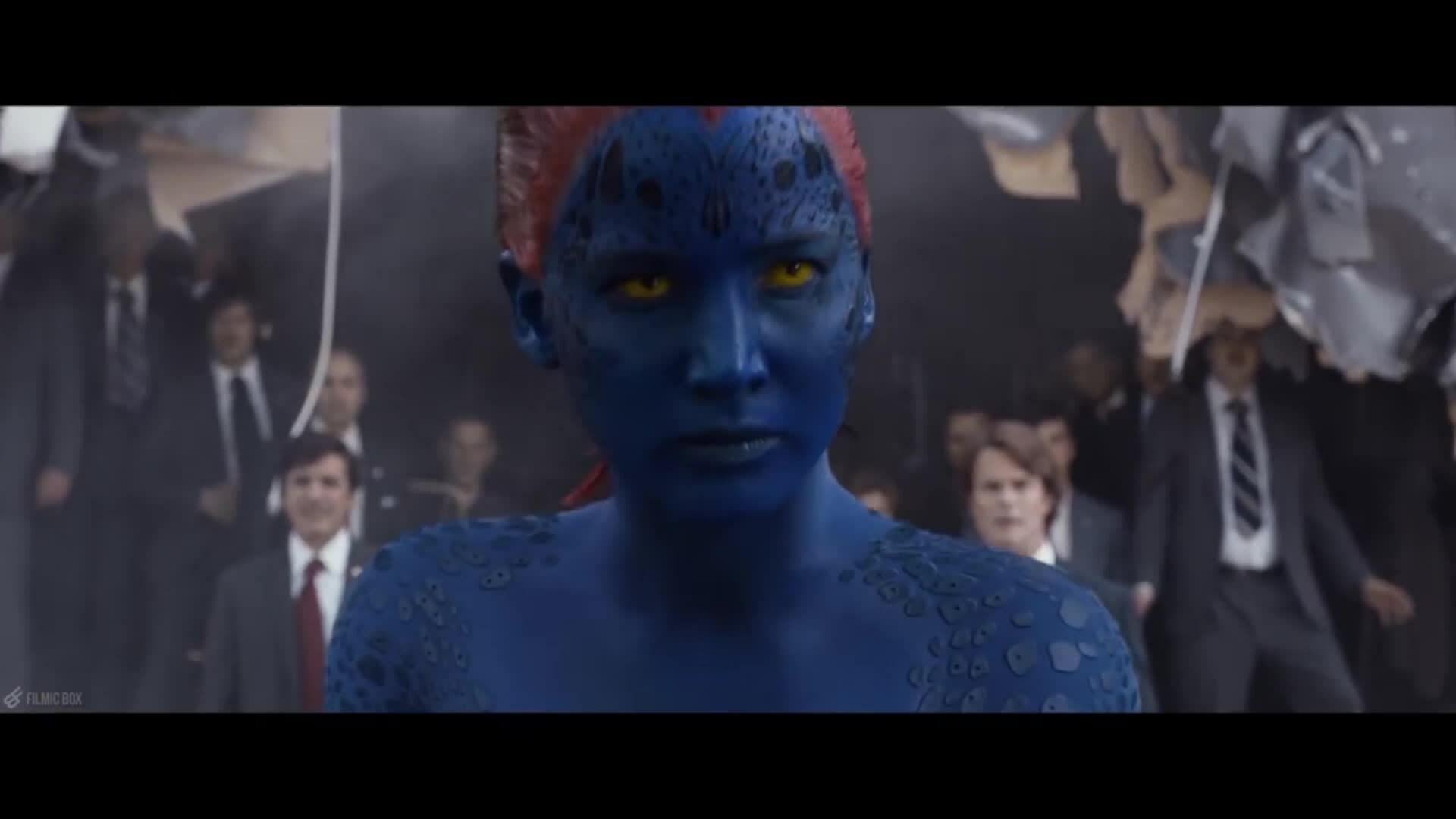 Mystique đấu Magneto trong X-Men Days of Future Past