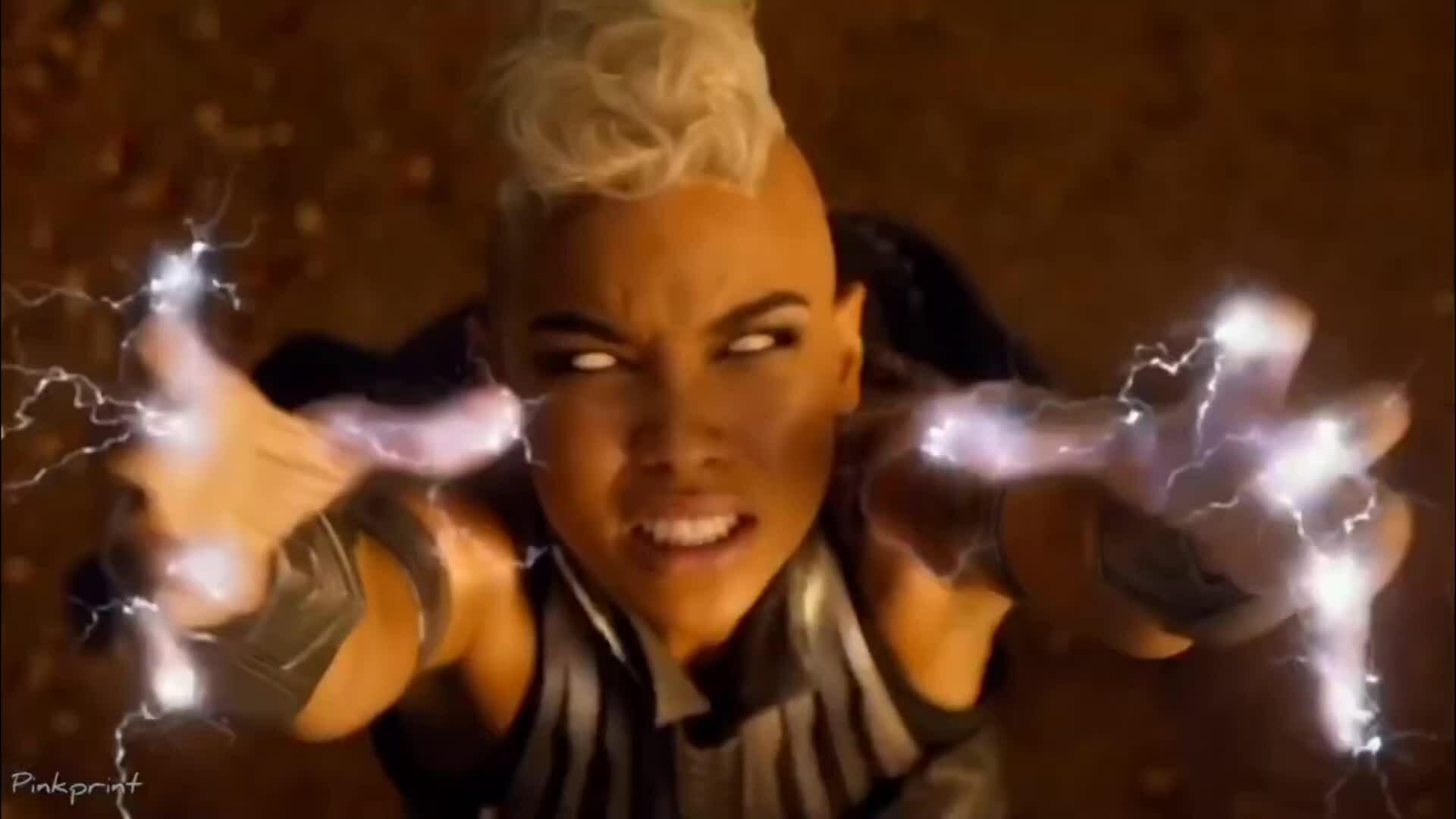 Năng lực của Storm trong loạt X-Men
