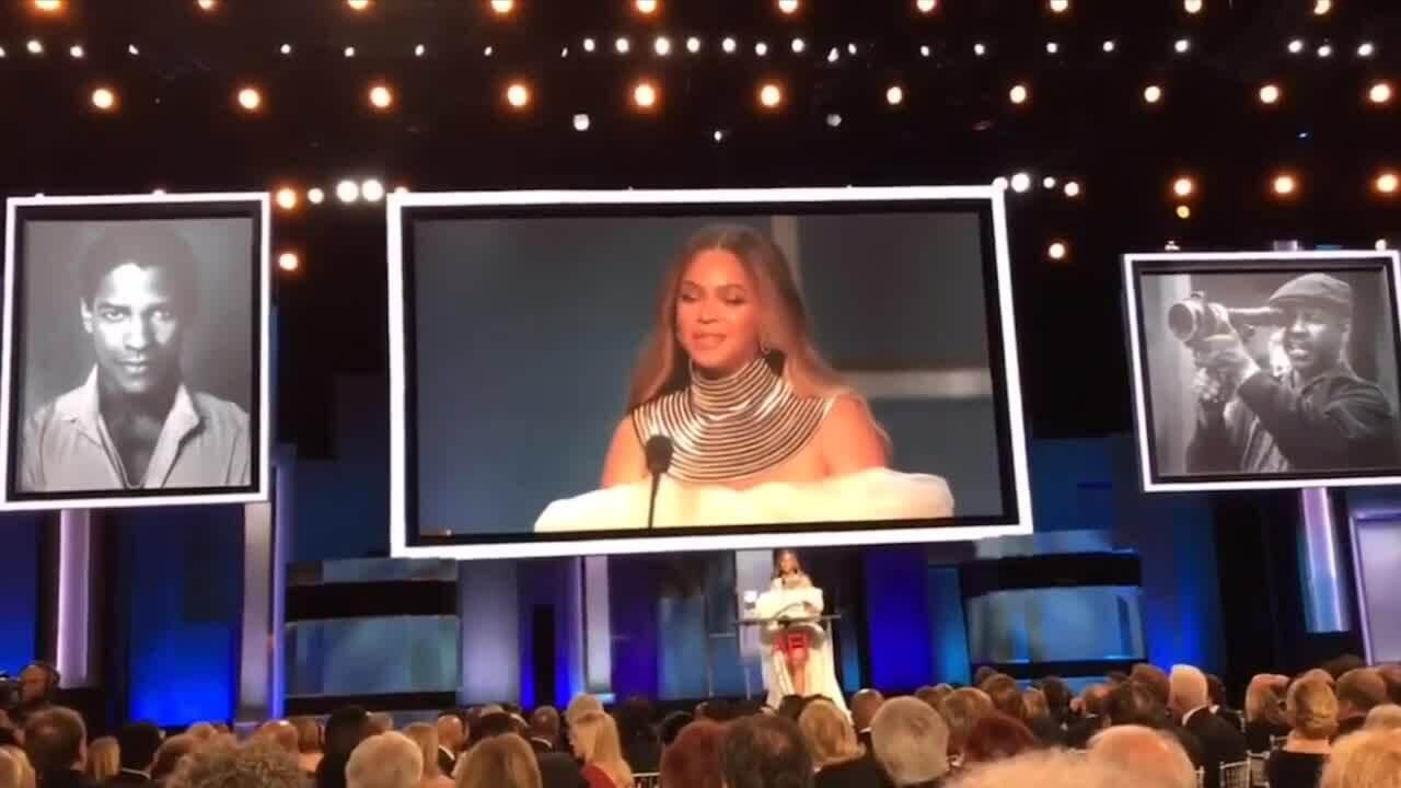 Beyonce diện đầm Phương My ở AFI Awards 2019