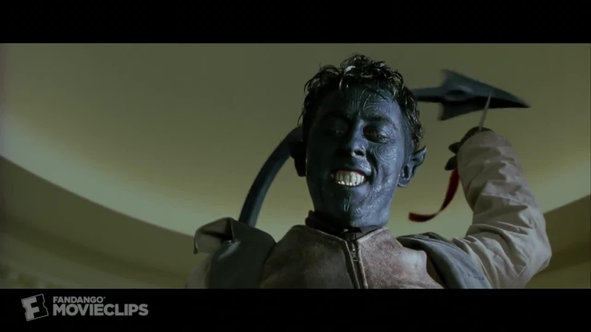 Nightcrawler đột nhập Nhà trắng trong X2