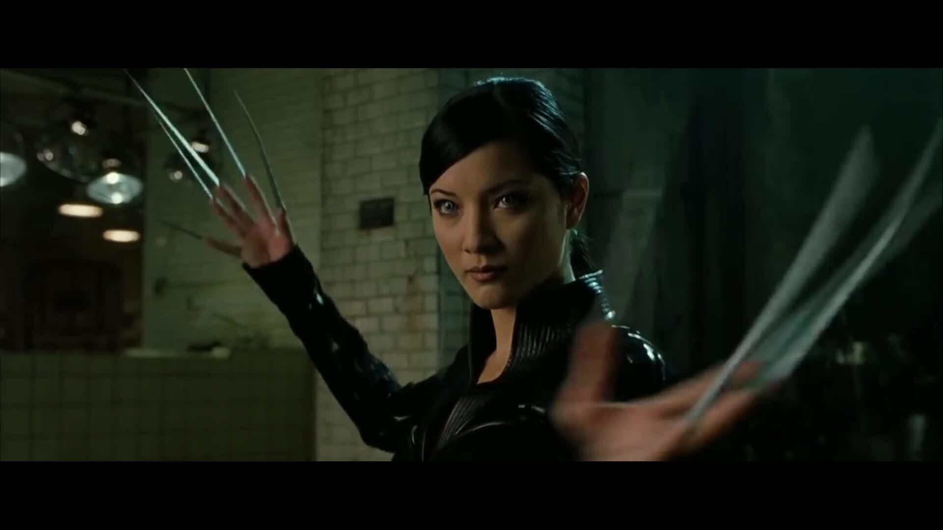 Wolverine đấu Lady Deathstrike trong X2 (2003)