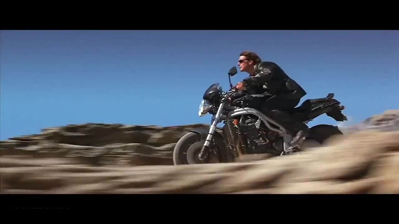 Tom Cruise trong Mission Impossible