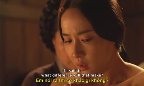 Một số cảnh trong The Concubine