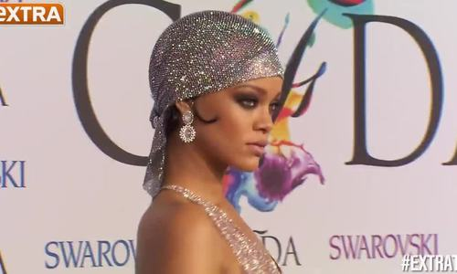 Rihanna ở CFDA 2014