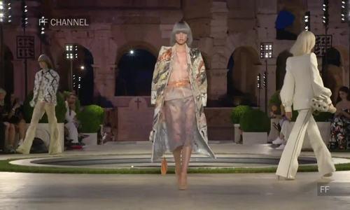 Fendi couture Thu Đông 2019