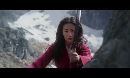 Lưu Diệc Phi tung chiêu trong Mulan