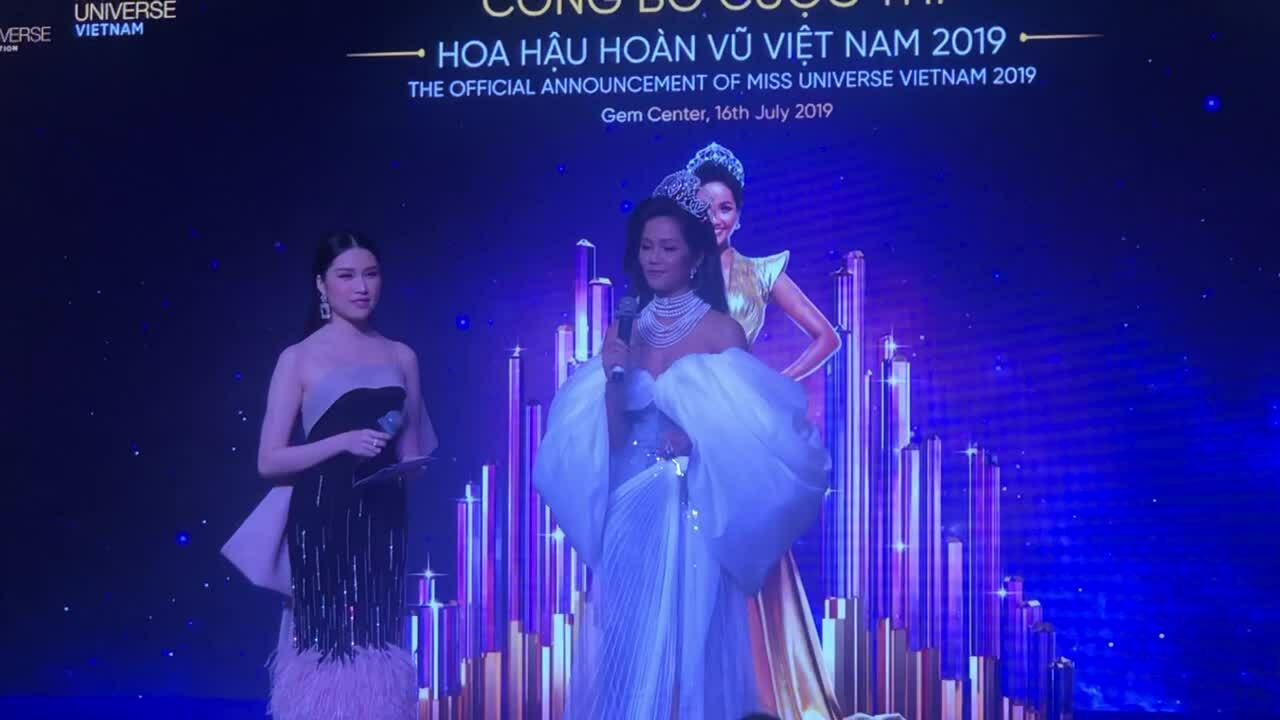 H'Hen Niê chia sẻ tiêu chí chọn tân hoa hậu