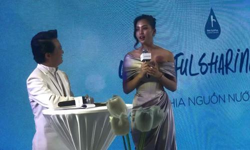 Hoa hậu Tiểu Vy chia sẻ