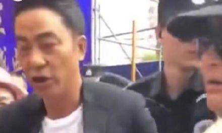 Tài tử Nhậm Đạt Hoa bị đâm vào bụng khi dự sự kiện
