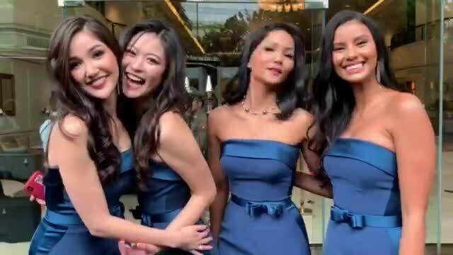 H'Hen Niê làm phù dâu trong đám cưới Hoa hậu Thái Lan