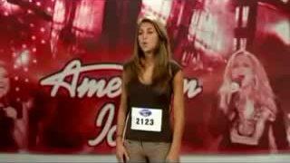 Antonella Barba thử giọng tại American Idol 2007