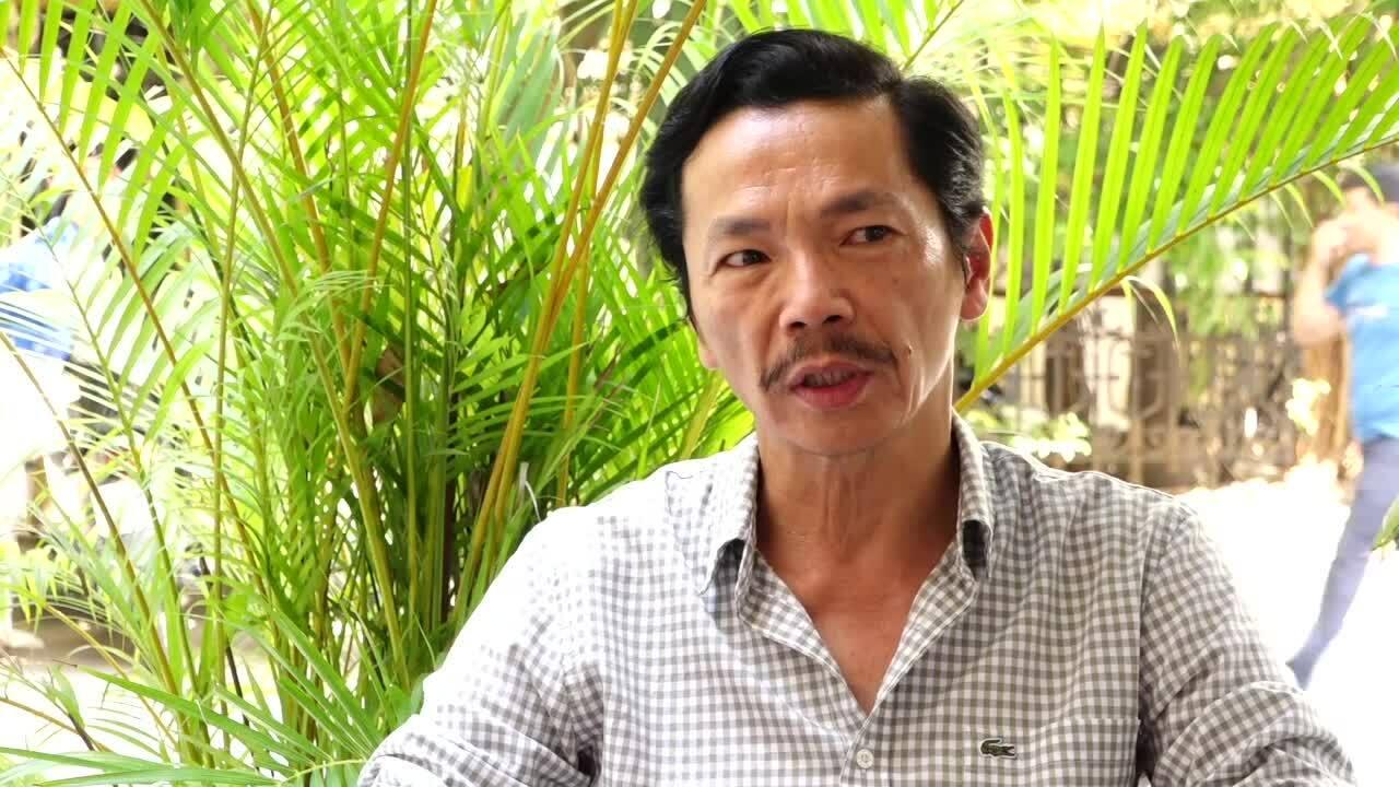 Nghệ sĩ Trung Anh: 'Vợ đóng góp 90% thành công của tôi'