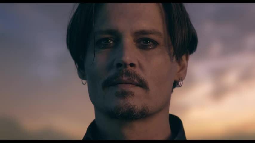 Johnny Depp quảng cáo nước hoa Dior 2