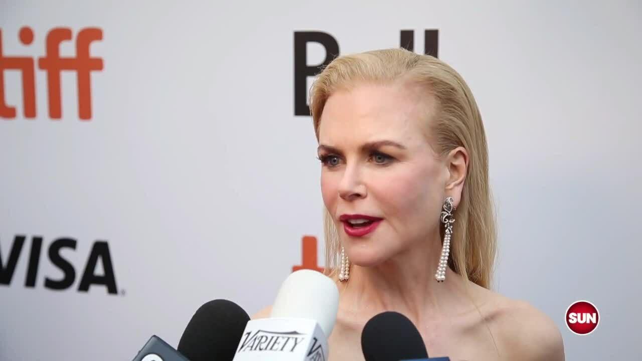 Nicole Kidman ở Toronto 2019