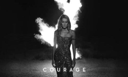 Celine Dion hát Courage