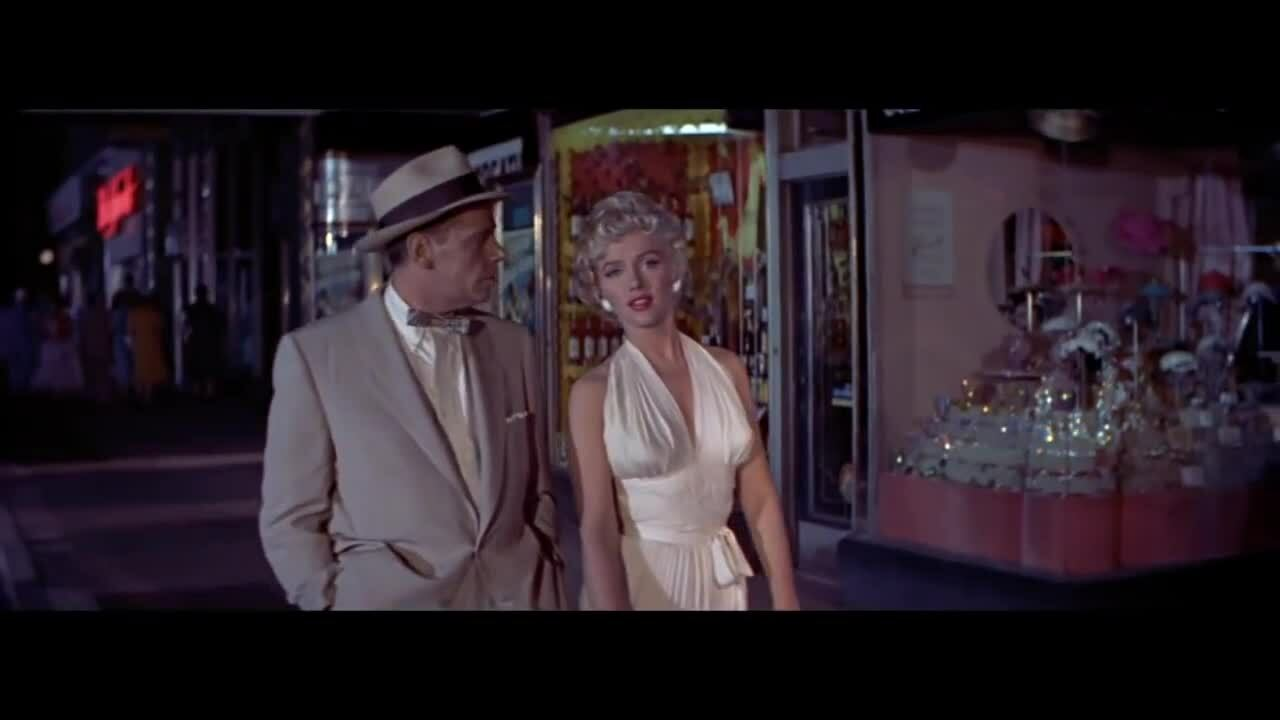 """Marilyn Monroe trong phim """"The Seven Year Itch"""""""