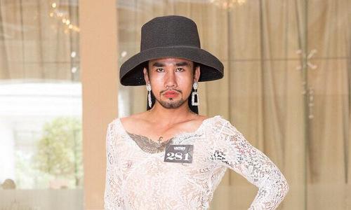 Chàng trai mặc váy tại Next Top