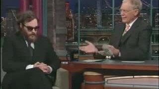Joaquin Phoenix trên David Letterman