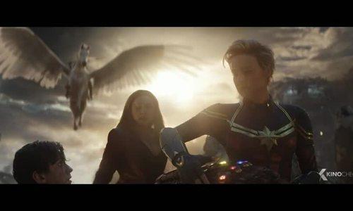 Avengers: Endgame - cảnh các nữ siêu anh hùng