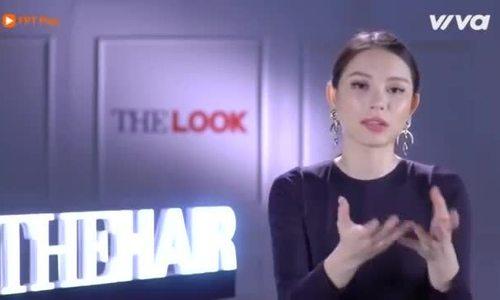 Người mẫu Linh Rin tại cuộc thi The Look
