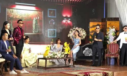 """Lê Khanh và dàn diễn viên ở buổi giới thiệu phim """"Gái già lắm chiêu 3"""""""
