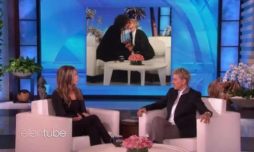 Jennifer Aniston hôn Ellen