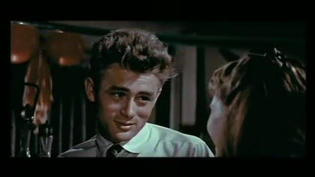 Hình ảnh quá khứ của James Dean trên màn bạc. Video: Youtube.