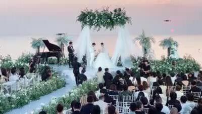 Đông Nhi, Ông Cao Thắng trao nhẫn cưới