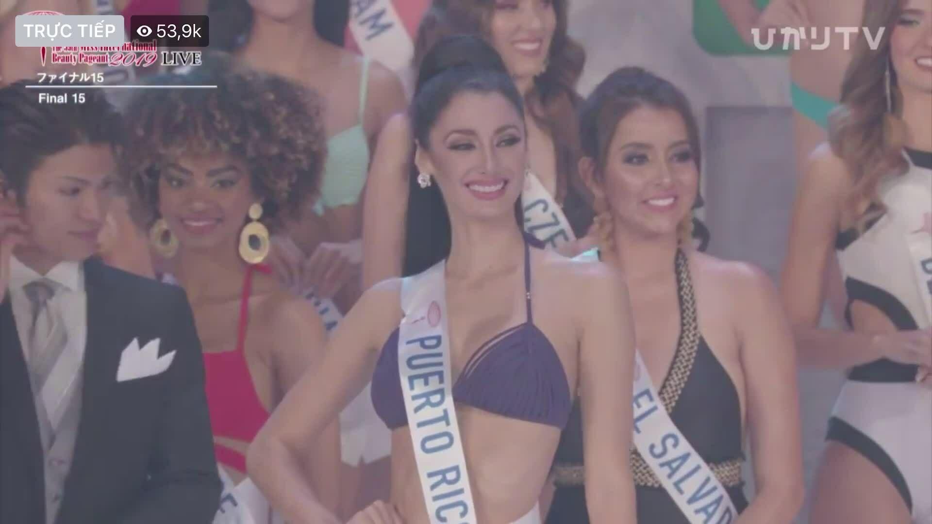 Tường San - top 15 miss international
