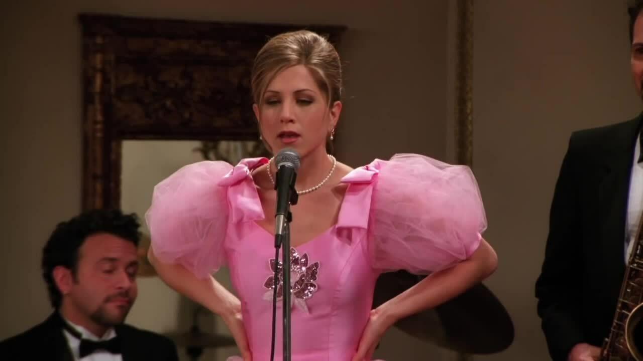 "Jennifer hát trong phim ""Friends"""