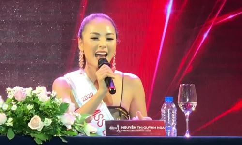 Biên tập viên truyền hình thi Hoa hậu Sắc đẹp Quốc tế