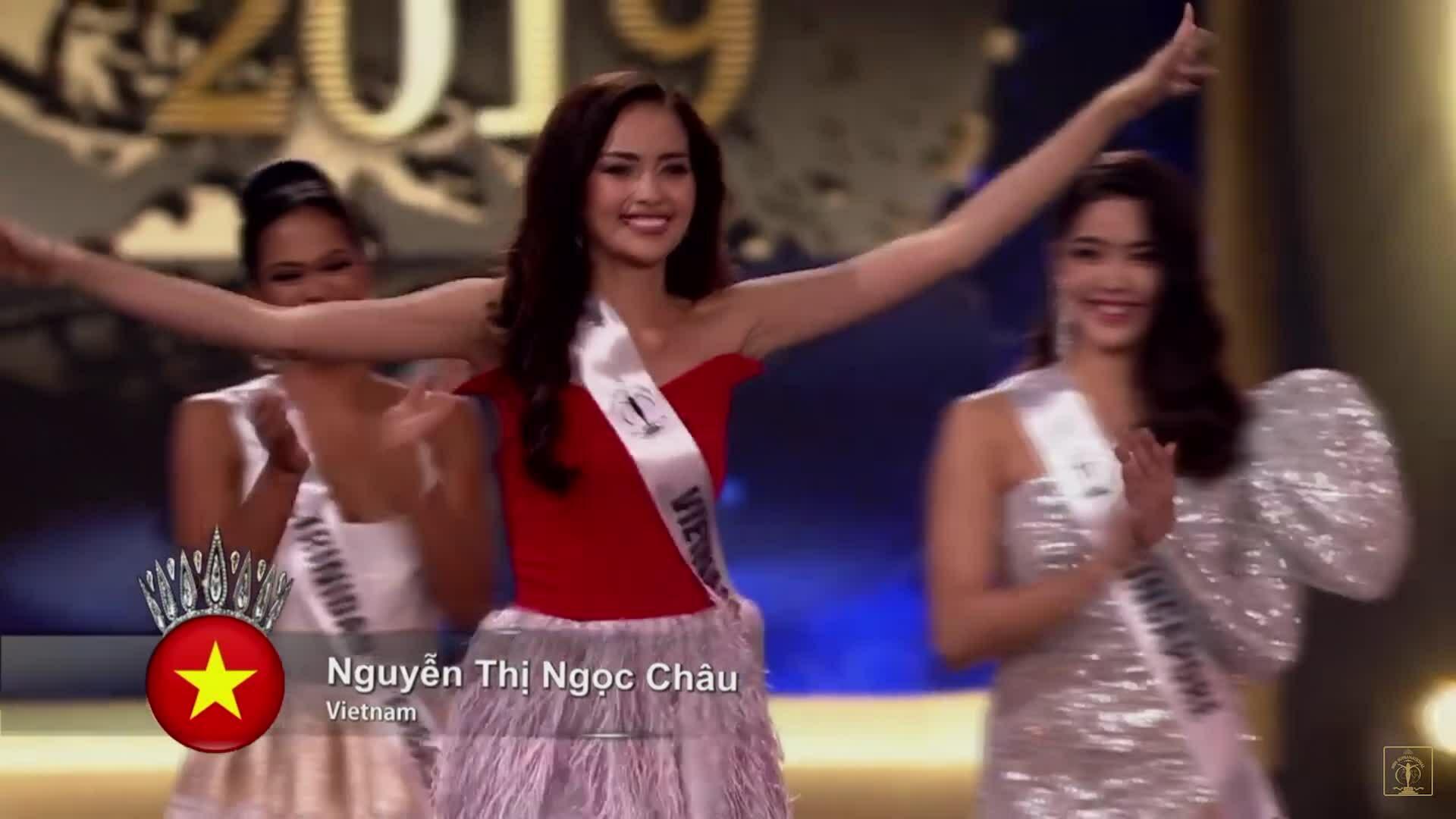 Ngọc Châu vào top 10 Miss Supranational
