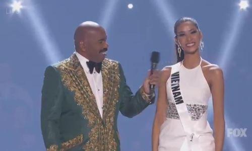 Hoàng Thùy vào Top 20 Miss Universe 2019