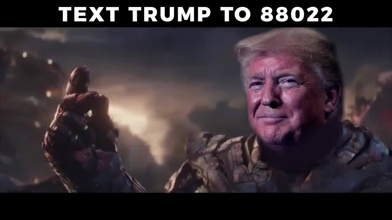 Donald Trump chế ảnh từ Thanos