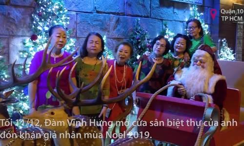 Đàm Vĩnh Hưngtrang trí Giáng sinh 2019