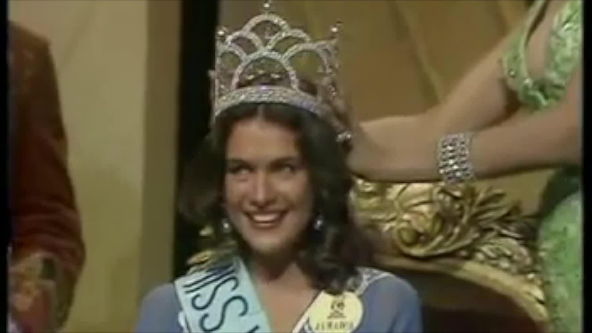 Khoảnh khắc đăng quang của Miss World 1976