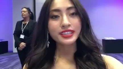 Lương Thùy Linh tự hào khi vào Top 12 Miss World