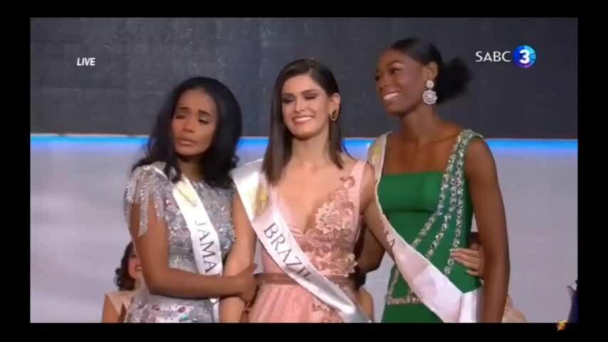 Người đẹp Nigeria vỡ òa khi Jamaica đăng quang Miss World