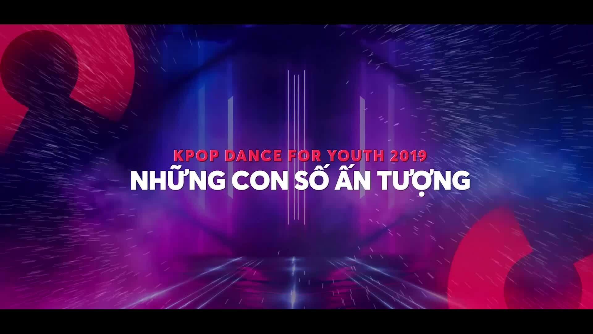 Những con số ấn tượng sau 4 vòng thi 'Kpop Dance For Youth'