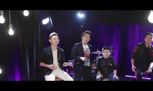 Bằng Kiều hát cùng ba con trai