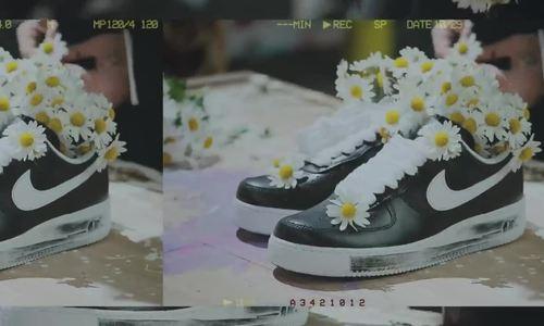 G-Dragon chia sẻ về giày hoa cúc