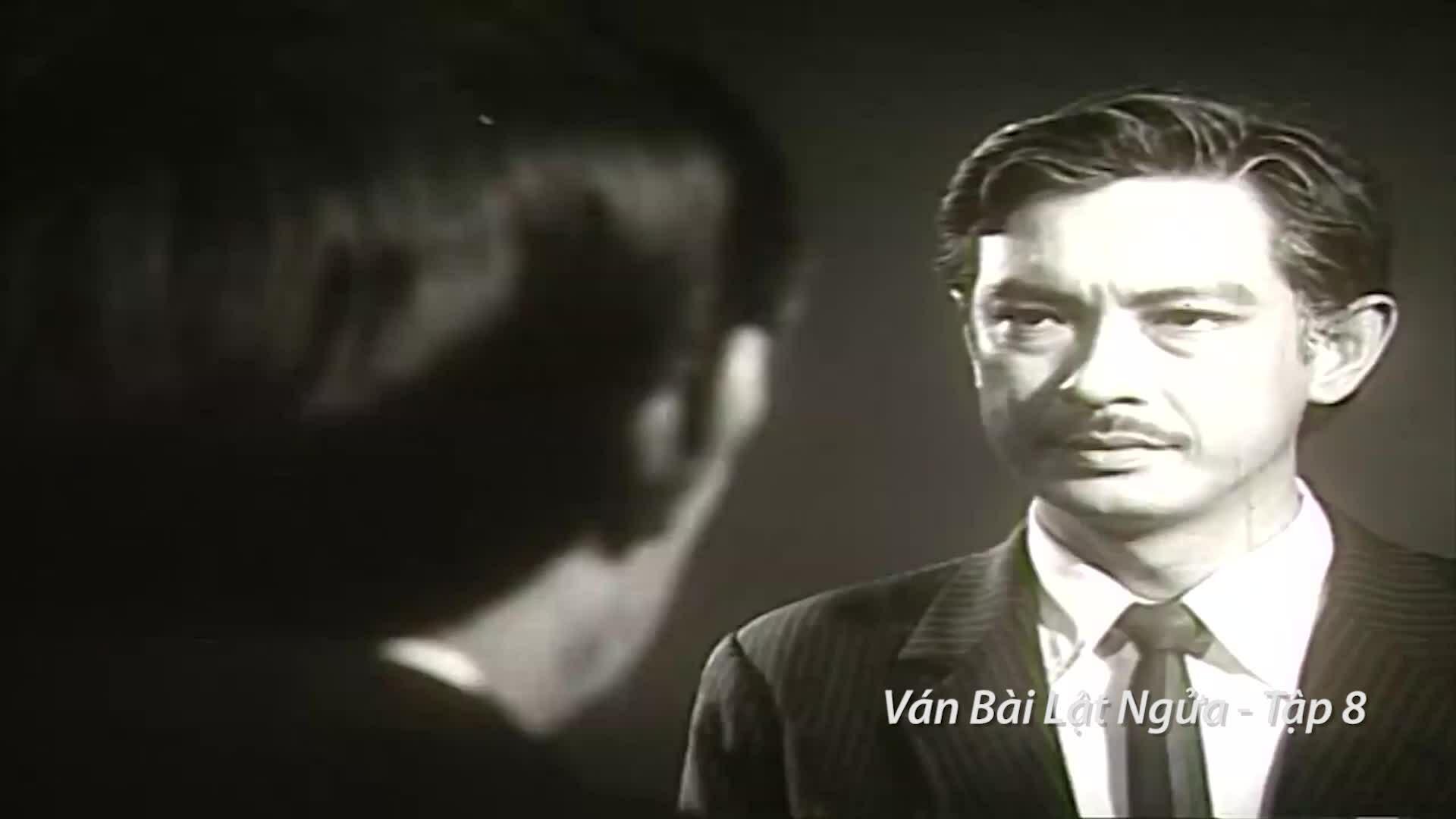 Một số cảnh diễn của Nguyễn Chánh Tín trong Ván bài lật ngửa