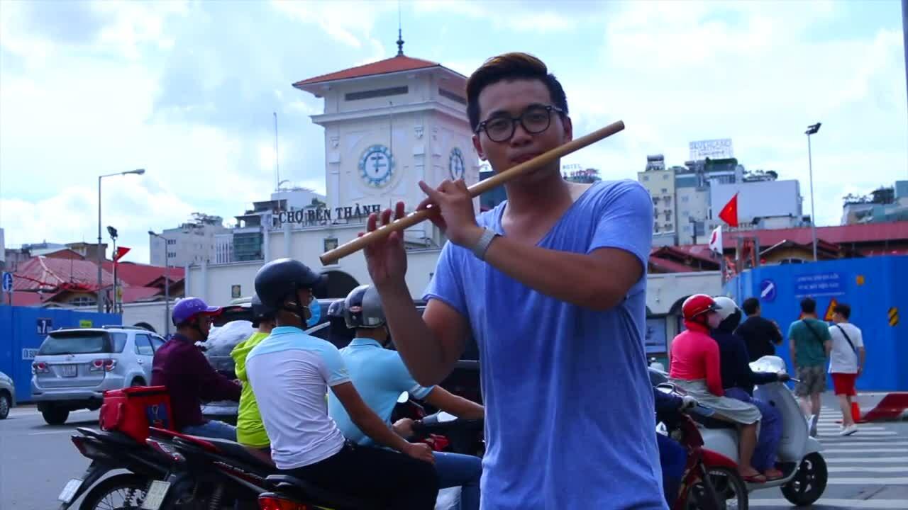Đinh Nhật Minh chơi sáo cover 'Despacito'