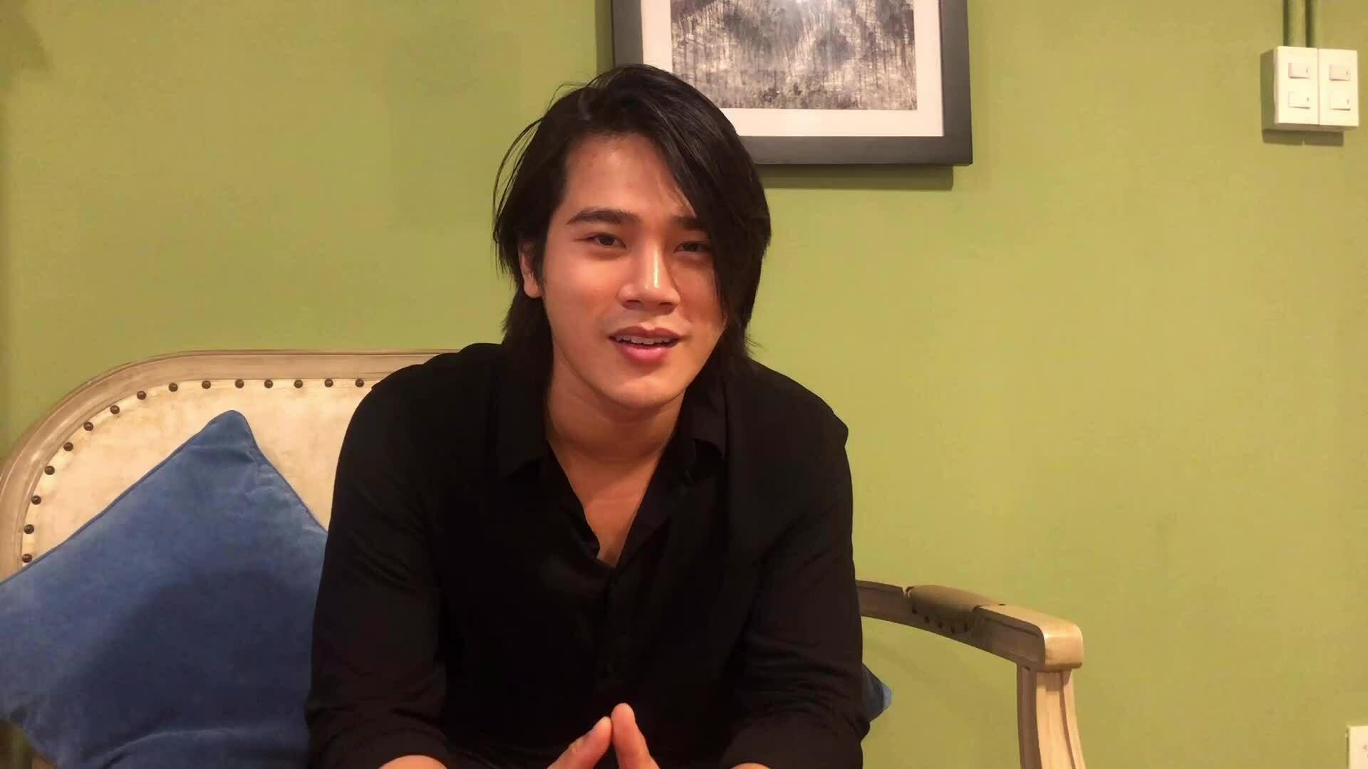 Trần Phong được chọn đóng Dũng Mắt biếc vì nét đểu