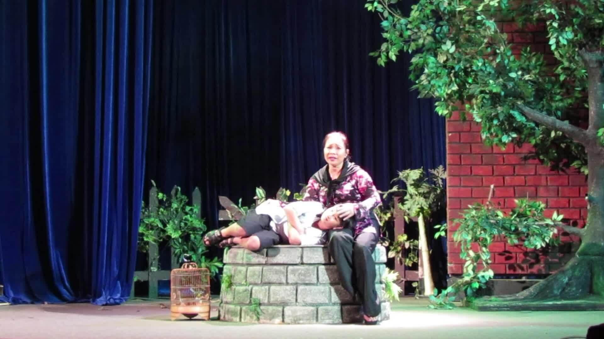 Đạo diễn Việt Linh kiên trì với sân khấu
