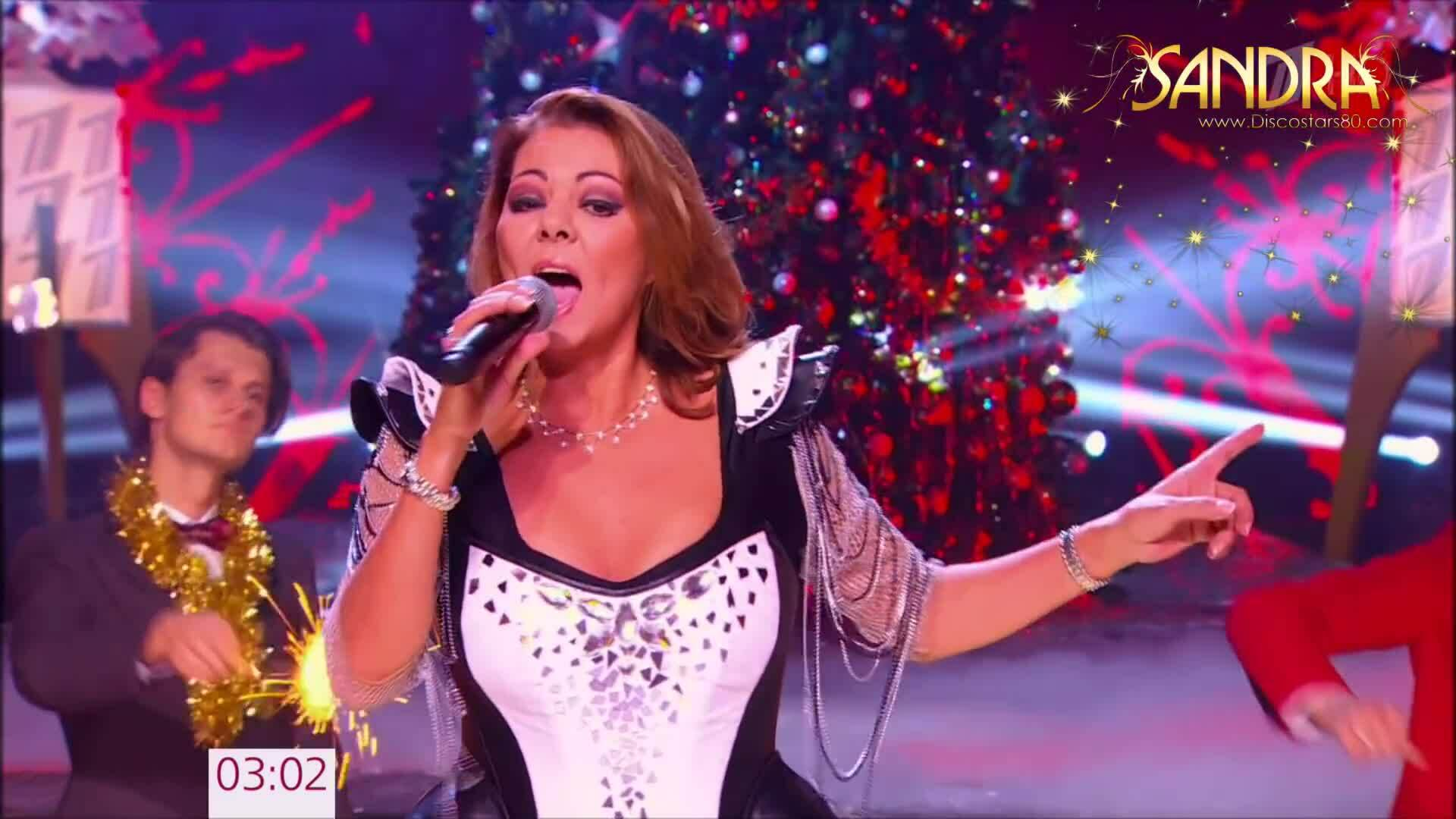 Sandra hát 'Maria Magdalena' năm 2017.