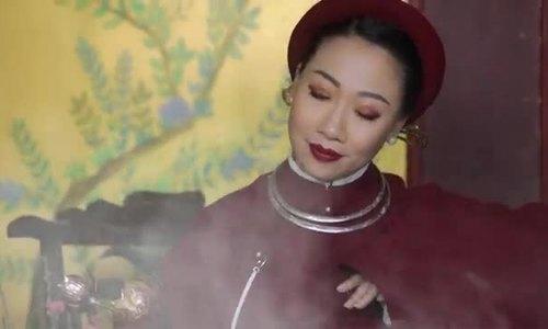 'Sao mai' Hiền Anh ra MV kể chuyện 'say nắng'