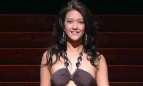 Michiko Tanaka tại Hoa hậu thế giới