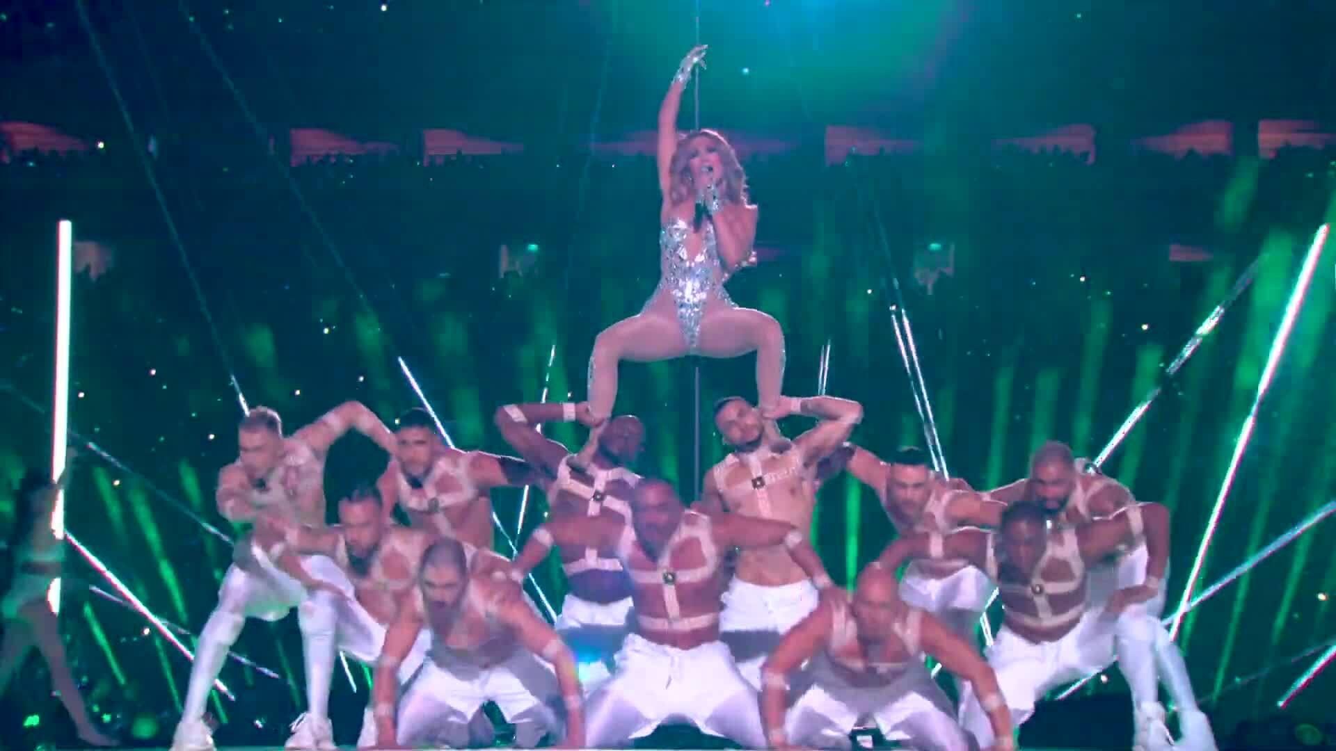 Jennifer Lopez và Shakira Super Bowl Half Time Show